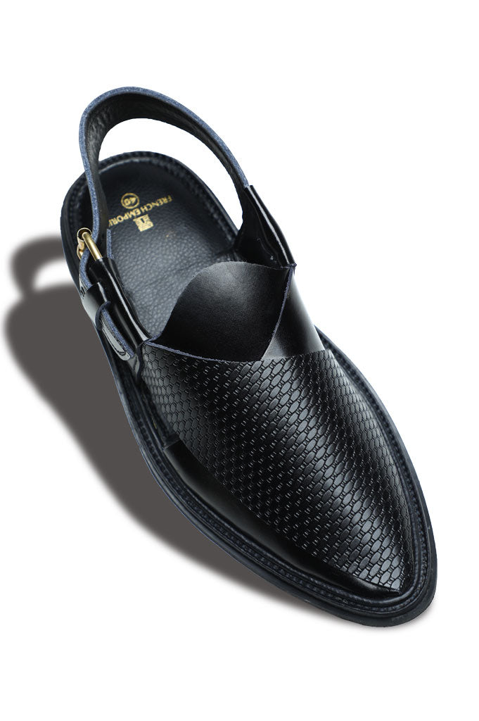 French Emporio Man Sandal SKU: PSLD0019-BLACK
