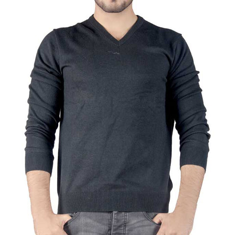 Gents Sweater In Black SKU: SA426-Black