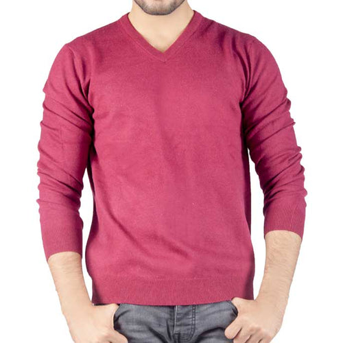 Gents Sweater In Purple SKU: SA426-Purple