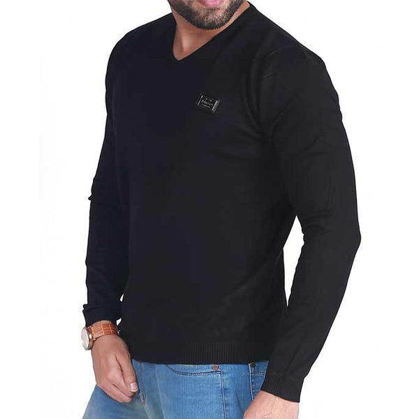 Gents Sweater In Black SKU: SA403-Black