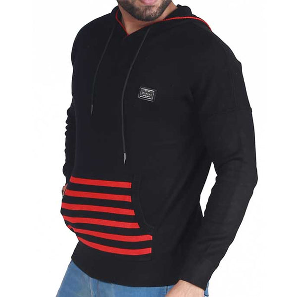Gents Sweater In Black SKU: SA404-Black