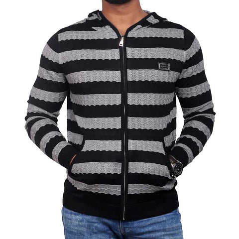 Gents Sweater In Black SKU: SA405-Grey