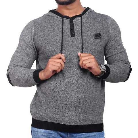 Gents Sweater SKU: SA406-Grey