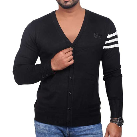 Gents Sweater SKU: SA411-Black