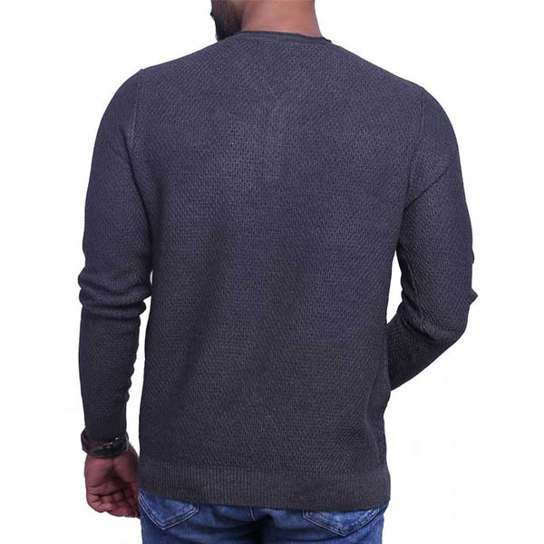 Gents Sweater In Grey SKU: SA418-Grey
