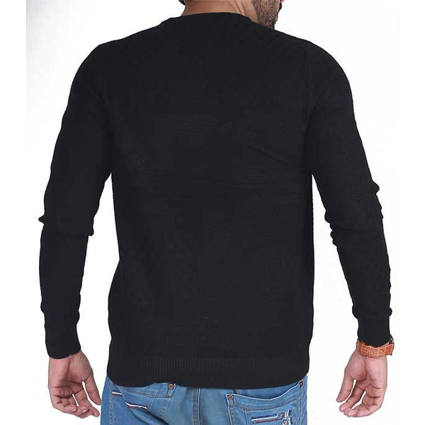 Gents Sweater In Black SKU: SA421-Black