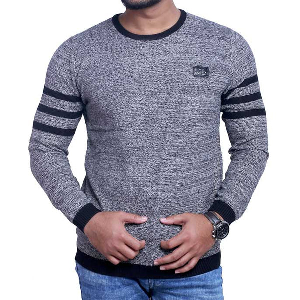 Gents Sweater SKU: SA424-Grey