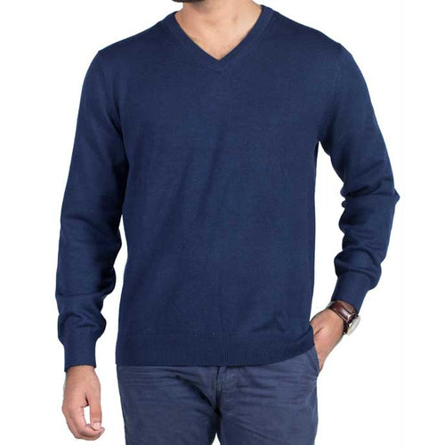 Gents Sweater In Blue SKU: SA426-Blue
