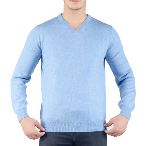 Gents Sweater In Sky Blue SKU: SA426-Sky-Blue