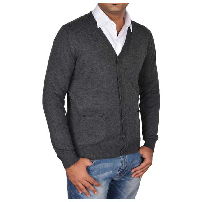 Gents Sweater In D-Grey SKU: SA427-D-Grey