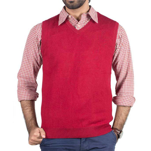 Gents Sweater In Maroon SKU: SA519-MAROON