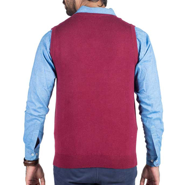 Gents Sweater In Purple SKU: SA428-PURPLE