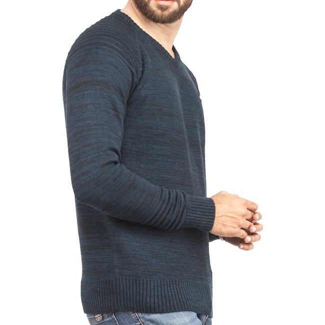 Gents Sweater In D-Blue SKU: SA444-D-Blue