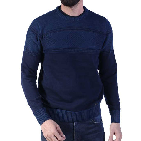 Gents Sweater In N-Blue SKU: SA461-N-Blue