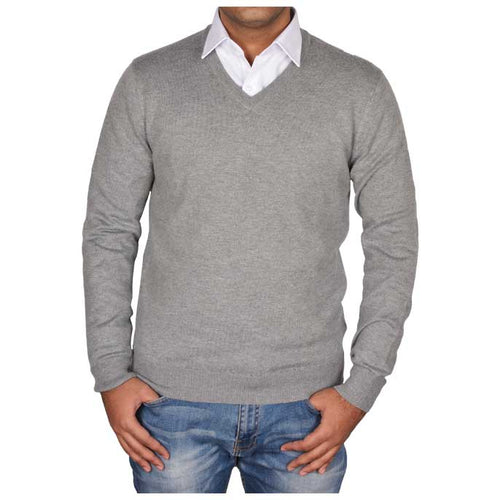 Gents Sweater In Grey SKU: SA472-Grey