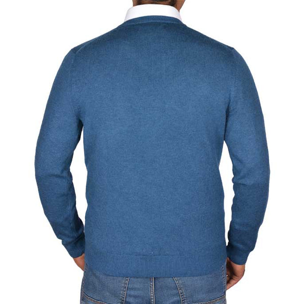 Gents Sweater In Teal SKU: SA472-TEAL