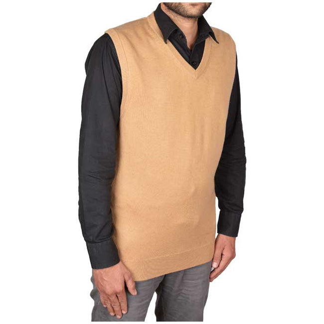 Gents Sweater In Fawn SKU: SA473-FAWN