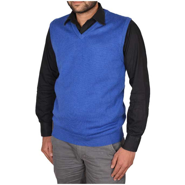 Gents Sweater In R-Blue SKU: SA473-R-Blue