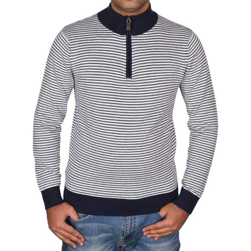 Gents Sweater In N-Blue SKU: SA476-N-BLUE