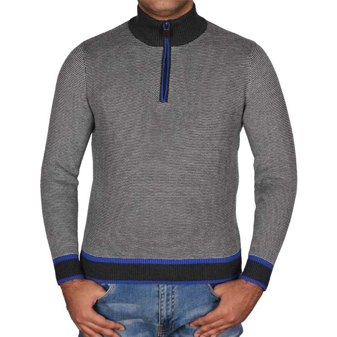 Gents Sweater In C-Grey SKU: SA479-C-GREY