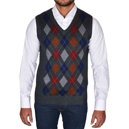 Gents Sweater In D-Grey SKU: SA481-D-GREY