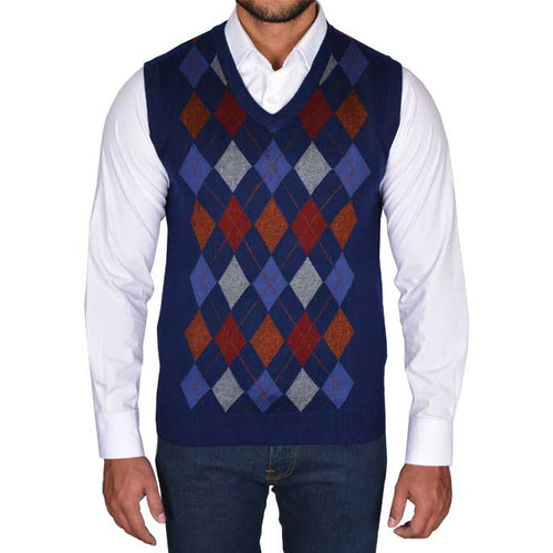Gents Sweater In N-Blue SKU: SA481-N-BLUE