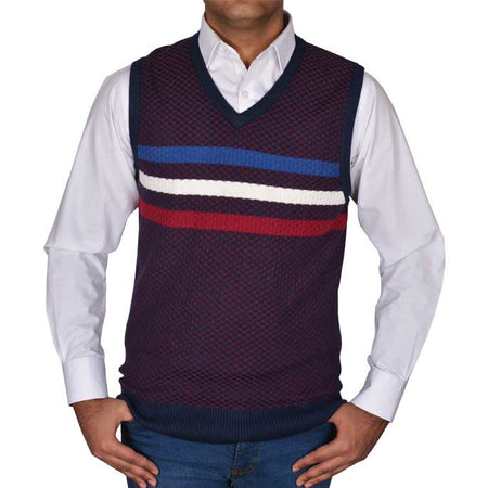 Gents Sweater In D-Green SKU: SA386-D-Green