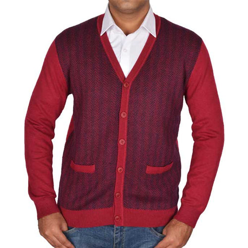 Gents Sweater In Maroon SKU: SA493-MAROON