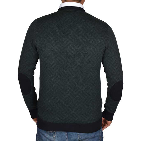 Gents Sweater In D-Green SKU: SA500-D-GREEN