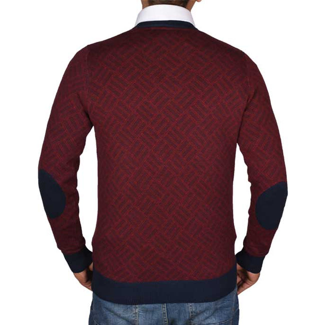 Gents Sweater In Maroon SKU: SA500-MAROON