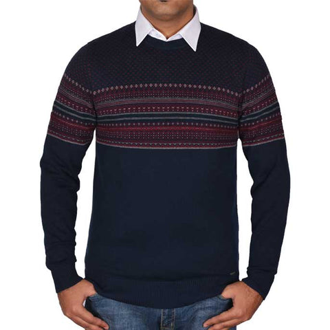 Gents Sweater In N-Blue SKU: SA501-N-BLUE