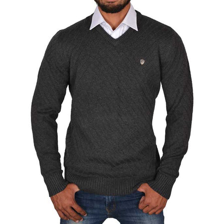 Gents Sweater In Fawn SKU: SA422-FAWN