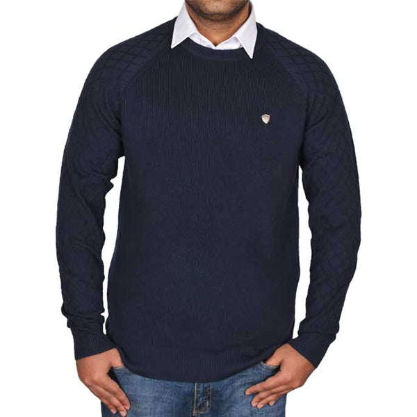 Gents Sweater In Blue SKU: SA504-BLUE