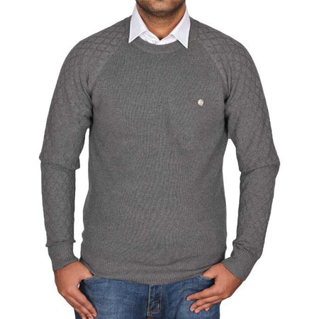 Gents Sweater In Blue SKU: SA422-BLUE
