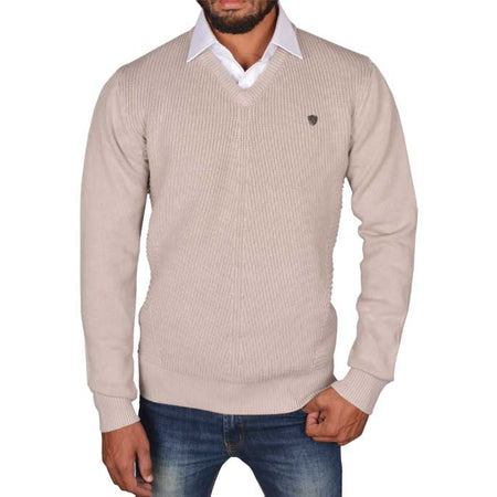 Gents Sweater In Black SKU: SA402-Maroon