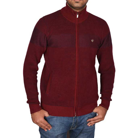 Gents Sweater In Maroon SKU: SA517-MAROON