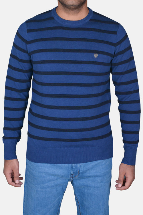 Gents Sweater In R-Blue SKU: SA530-R-Blue