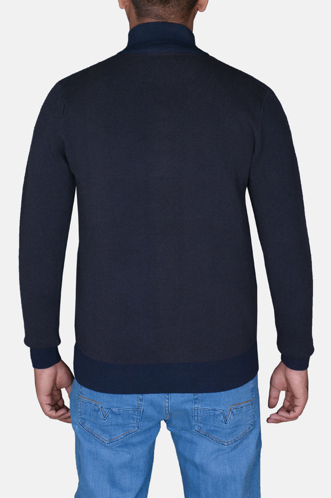 Gents Sweater In N-Blue SKU: SA539-N-Blue