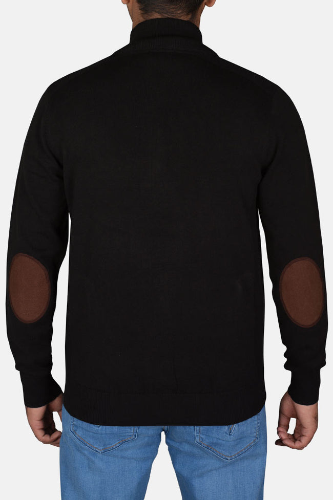 Gents Sweater In Black SKU: SA540-Black