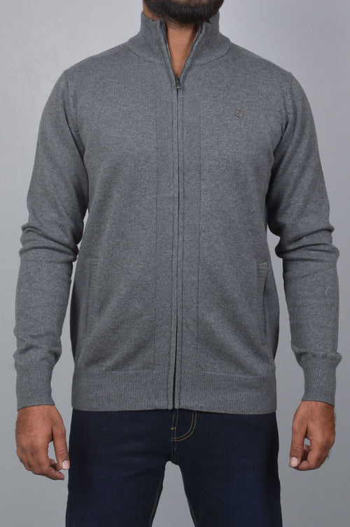 Gents Sweater SKU: SA540-Grey