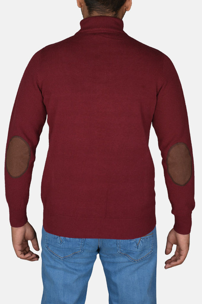 Gents Sweater In Maroon SKU: SA541-Maroon