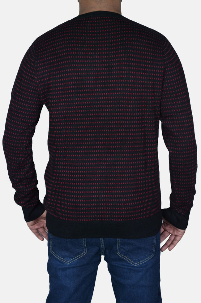 Gents Sweater In Black SKU: SA545-Black