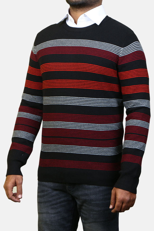 Gents Sweater SKU: SA546-Black