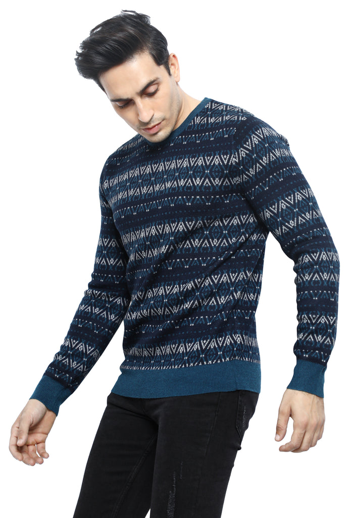 Gents Sweater In N-Blue SKU: SA555-N-Blue - Diners