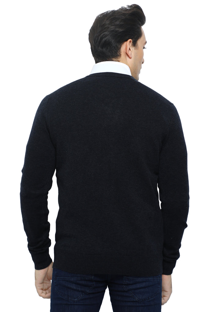 Gents Sweater In D-Grey SKU: SA558-D-GREY - Diners