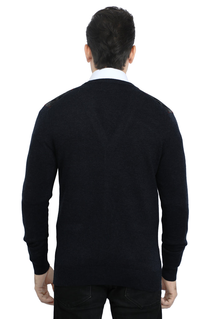 Gents Sweater In Grey SKU: SA573-GREY - Diners
