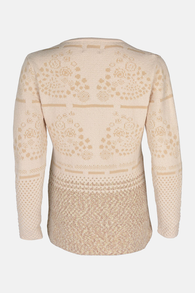 Ladies Sweater In Cream SKU: SL811-Cream