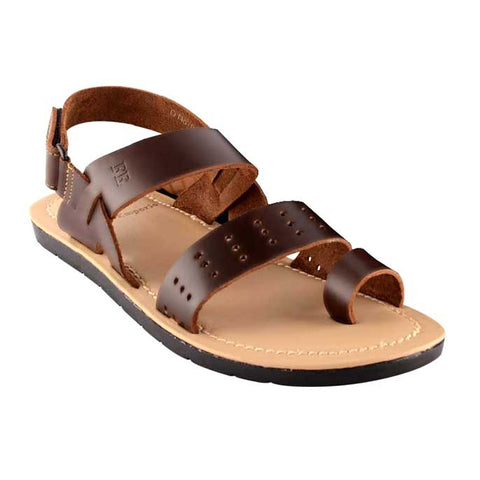 French Emporio Man Sandel In Brown SLD0001-BROWN