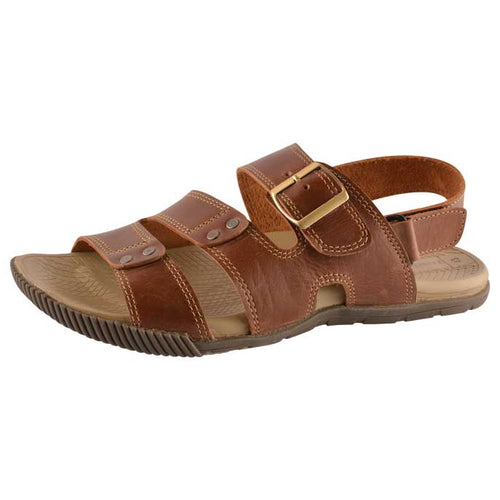 French Emporio Man Sandel In Tan SLD0008-TAN