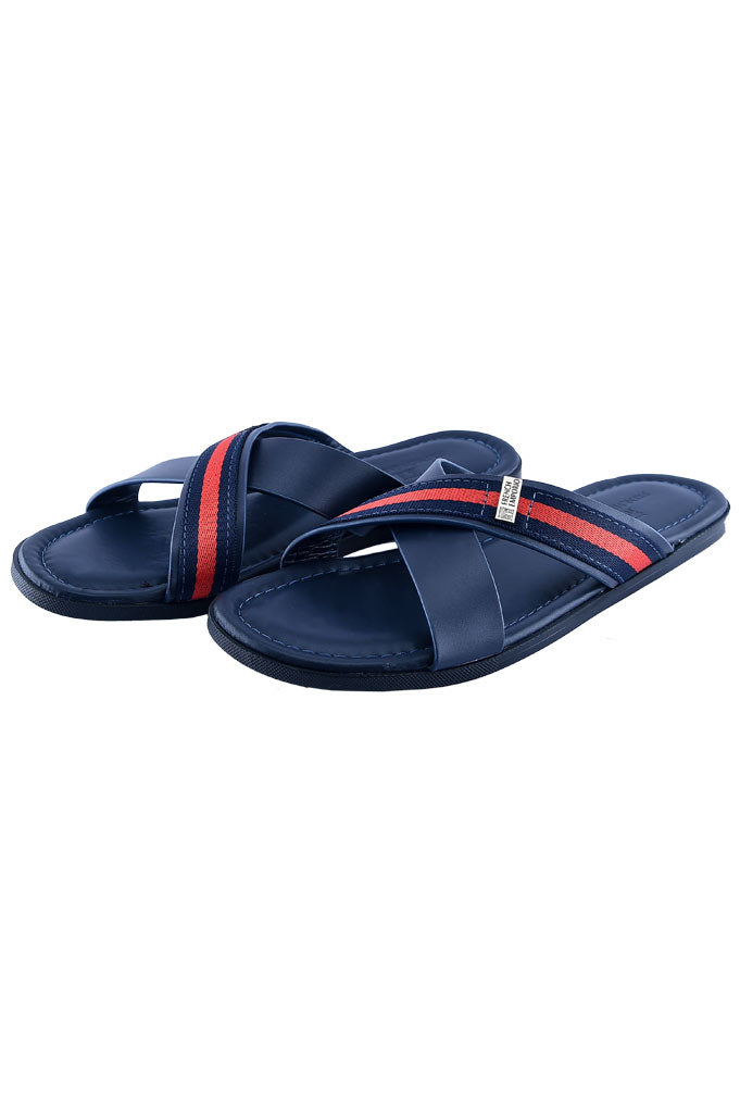 Slippers For Men in Blue SKU: SLP0055-BLUE